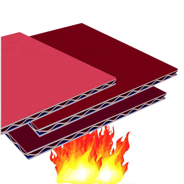 A2 fire-rated aluwellbond ACCP aluminum core composite panel