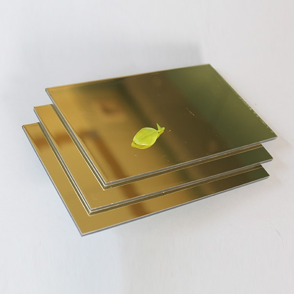 CHINA GOLD MIRROR Mirrored Surface Composite